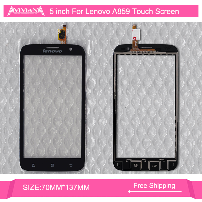 5 Inch Lenovo A859 Mobile Phone Capacitive Touch Screen Digitizer Front Glass Lens Repair Replacement Part - Shenzhen Vivian Communication Co., Ltd store