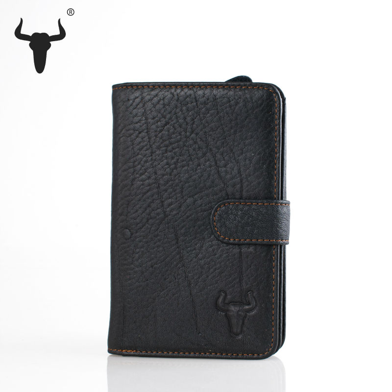 Top Oil Wax Leather Travel Wallets Genuine Leather Purse Cow Leather Organizer Super Increase Zipper Pocket Practical Wallet(China (Mainland))