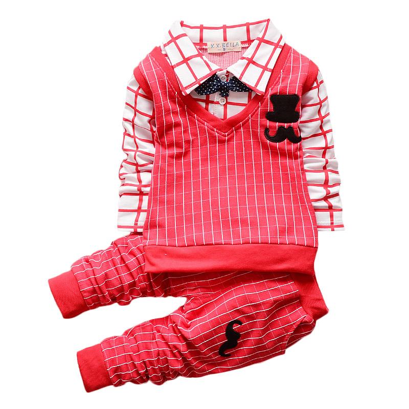 2015 children han edition boy line beard cowboy virgin suit appearance, children's clothes Children clothing suits(China (Mainland))