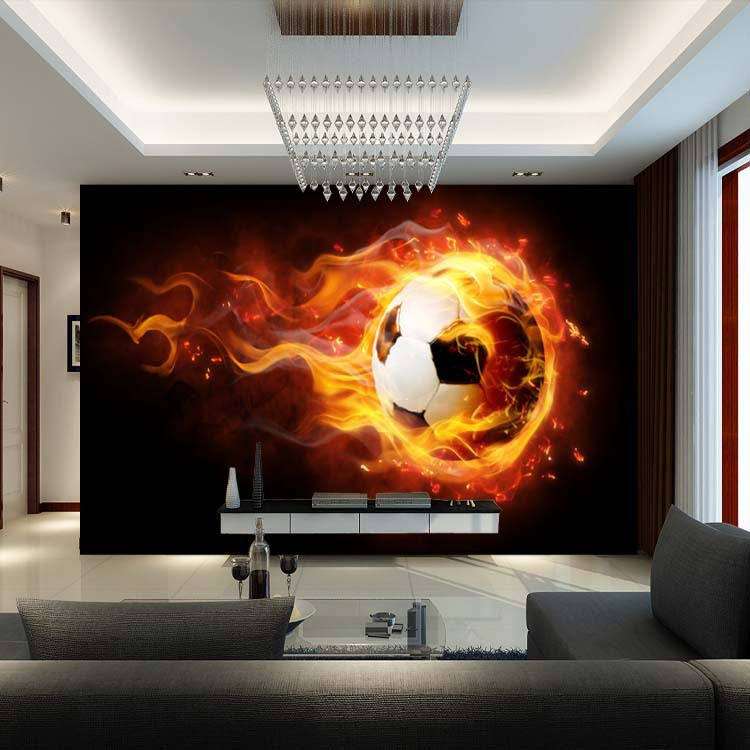 3d football mural wallpaper soccer full wall murals print wall mural photo wallpaper xxl football soccer 187ws ebay