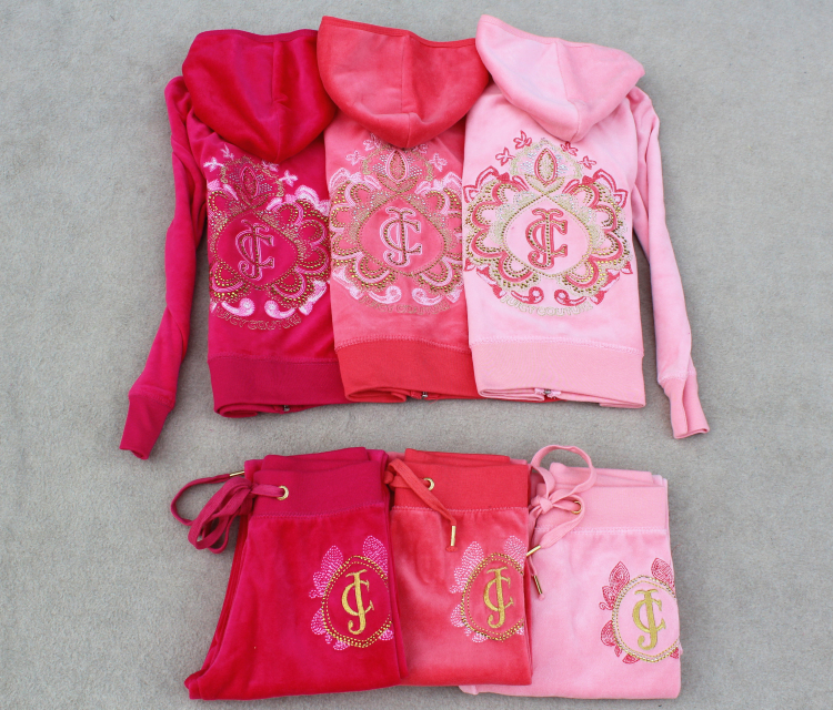 Children's Sportswear COUTURE Rhinestone Velour Kids Tracksuits,Kids Velvet Suits,Child Clothing Set,Girl Suit Hoodies & Pants(China (Mainland))