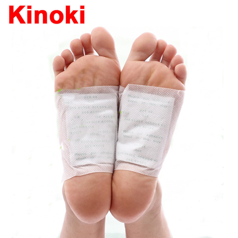 50pcs lot Gold Kinoki Detox Foot Pads Patch Massage Relaxation Improve Sleep Lose Natural Organic Herbal