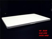 13.3'' 4G+500G+64G SSD Ultrathin Laptop Notebook Computer Quad core Celeron J1900 2.0Ghz Windows 7 System 3G Wifi HDMI Ultrabook(China (Mainland))