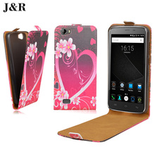 Buy Colored Open Flip Cover DOOGEE T6 T 6 PU Leather Case Cute Heart Painted Doogee t6 Patterns cover case Shell for $3.93 in AliExpress store