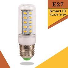 Buy High Power E27 LED Lamp corn bulb Spotlight SMD 5730 lampada led 220v 240v lamparas 24 36 48 56 69 72Leds Warm Cold White for $1.24 in AliExpress store