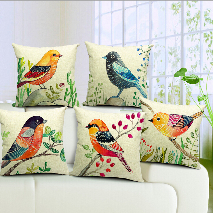 Throw Pillows With Birds : bird decorative pillows Reviews - Online Shopping Reviews on bird decorative pillows ...