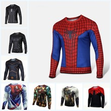 Buy High NEW 2016 Marvel Captain America 2 costume Super Hero jersey new T shirt Men USA cosplay clothing long sleeves 4XL for $8.06 in AliExpress store