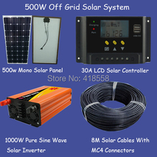 free shipping 500w solar home system whole house solar power system 500w factory quality promise
