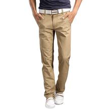 2016 neue Mode Herren gerade Cargo-Hosen Chinos Männer Casual Slim Fit Frühling Armee grüne Hose Kleidung Big Size 13M0554(China (Mainland))