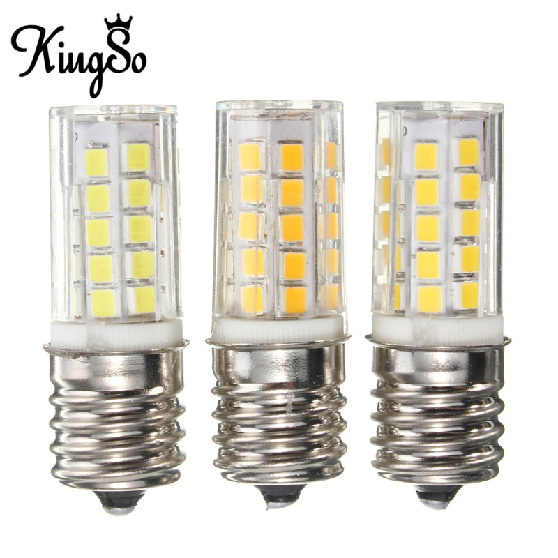 Top Quality Kingso E17 5W 450LM Non Dimmable Appliance Silicone Crystal LED Lights Bulb Lamp Low Power Consumption 110V(China (Mainland))