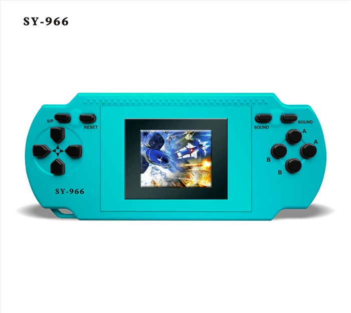 HOT christmas gifts Sy-966 1.8 inch color screen 228 games handheld player console(China (Mainland))