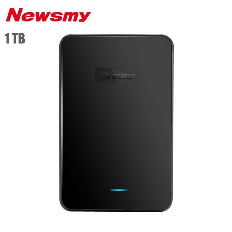 Фотография Newsmy Xingyun External Hard Drive 1TB USB 3.0 HDD Hard Disk SATA Disco Duro Externo 1TB Large Storage Capacity Original Package