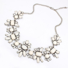 Best Deal New Fresh Wild Fashion Delicate Flowers Chain Crystal Necklace Jewelry Gift 1PC