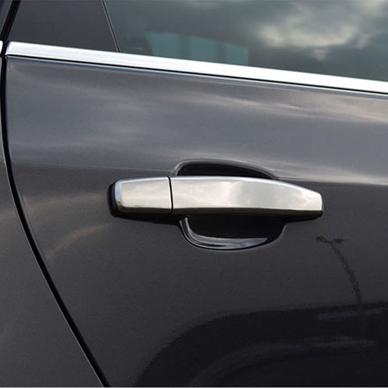 Buy Vauxhall Opel Astra H J Mokka ABS Chrome Car Door Handle