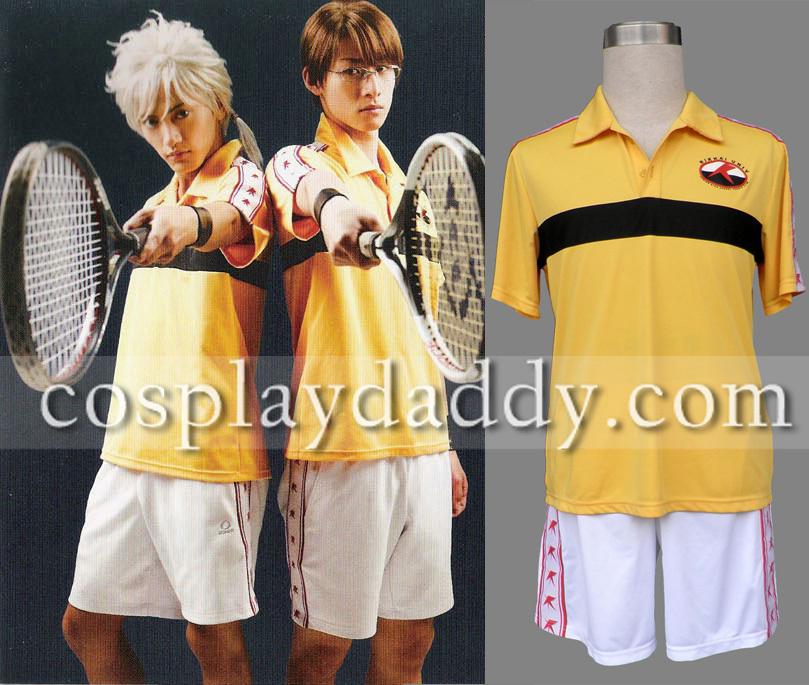 Prince Of Tennis Rikkai University High School Cosplay