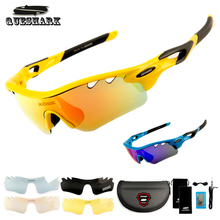 Buy QUESHARK Polarized Cycling Glasses Sports Bicycle Sunglasses TR90 Uv400 MTB Bike Sunglasses Bike Goggles 5 Lenses Eyewear for $12.45 in AliExpress store