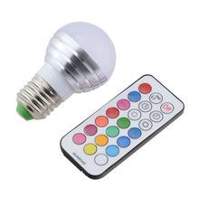 RGBW Led Bulb Lamp E27 LED Light Bulbs AC 110V 220V 5W LED rgbw Spotlight Dimmable Magic Holiday Lighting + IR Remote Controller()