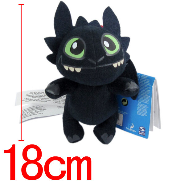 Wholesale Stuffed Toy&Super Toy & TOY How To Train Your Dragon Toothless Plush toy doll Figure Great for gift(China (Mainland))