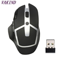 Ergonomic surface 2 4GHz Wireless 8 Buttons Adjustable DPI Optical Gaming Mouse Mice with USB Receiver