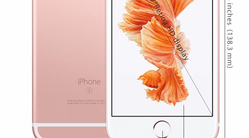 Original Apple iPhone 6S 4.7″ IOS 9 Dual Core A9 IOS 9 16/64/128GB ROM 2GB RAM Camera 12.0MP 4G LTE Unlocked Mobile phone