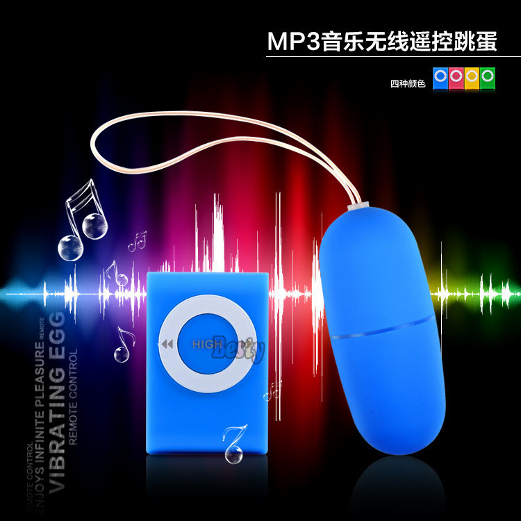 Wholesale fashion 20 Speeds Wireless Remote Control Vibrating MP3 Jump Egg Vibrator Sex Vibrator products Adult Sex toys(China (Mainland))