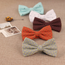 2016 New Fashion Bowtie Men and Boys Polyester Neck Ties Bow Ties Wedding or Party Cravat Papillon Female Neckwear For Shirt