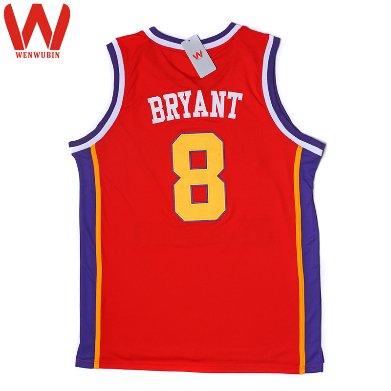 WENWUBIN Mens McDonald's All American High School Games Embroidered Basketball Jersey(China (Mainland))