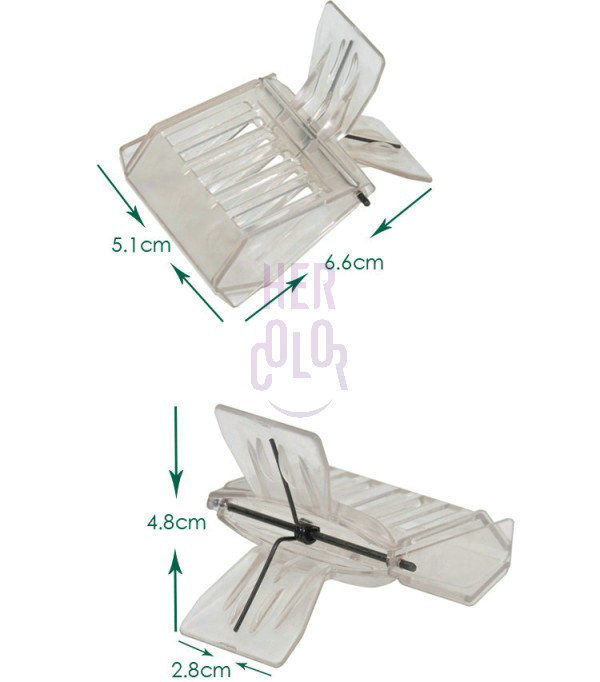 Welcome to buy 1Pcs Plastic Clip Queen Cage Bee Catcher Beekeeping Tools(China (Mainland))