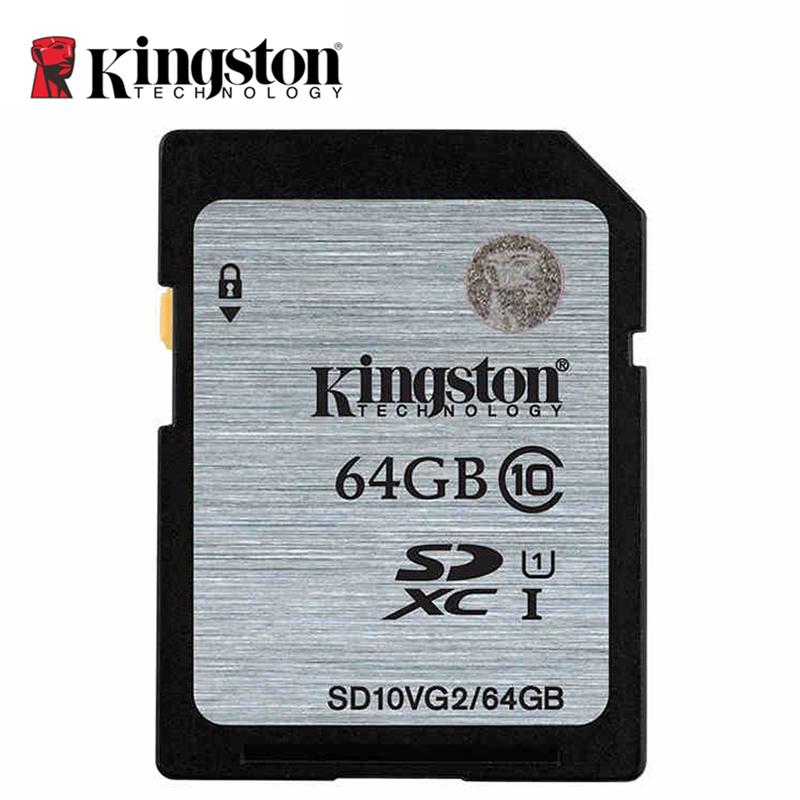 Original Kingston Real Capacity Class 10 SD Card 8GB 16GB 32GB 64GB Flash Memory Cards Digital SD Memory Card(China (Mainland))