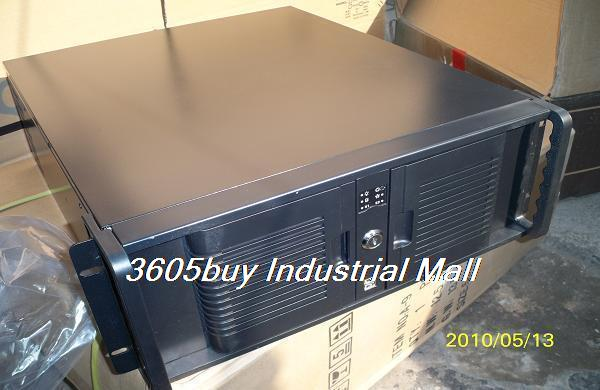 New arrival 4u server computer case industrial computer case dual quad-core ultralarge motherboard(China (Mainland))
