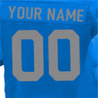 Top Quality 100% Stitched Men's #9 Matthew #15 Golden #20 Barry #21 Ameer #81 Calvin Elite Blue White Light Blue Football Jersey(China (Mainland))
