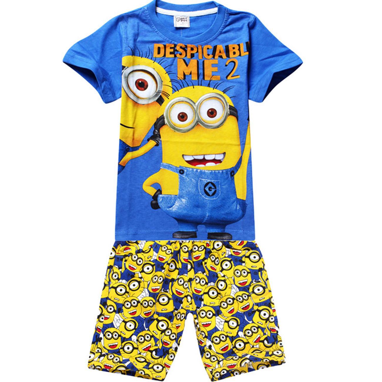 despicable me yellow minion clothes