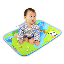Free shipping 60x41cm baby play mat /Baby Crawl Gym Mats Double Side/Baby Play Mats Outdoor/Baby Gym Mats(China (Mainland))