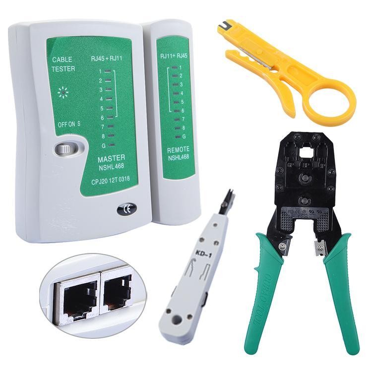 Rj45 rj11 rj12 cat5 cat6 lan handheld ethernet network for Canape network testing tool