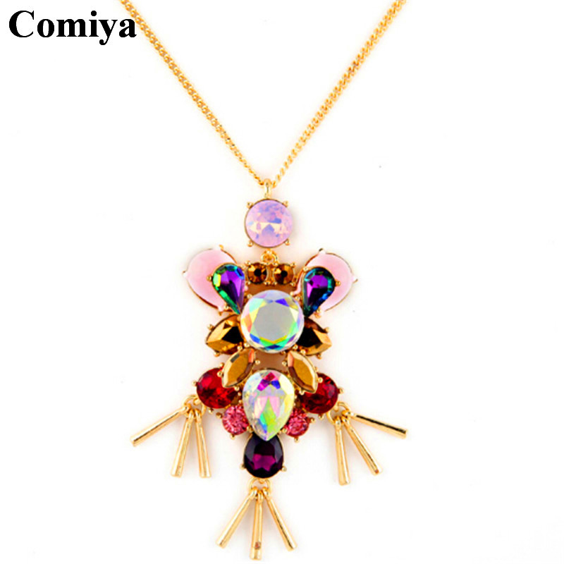 Fashion gold filled crystal stonevpendant necklaces parfum femme corrente masculina assassin creed dallas cowboy jersey necklace(China (Mainland))