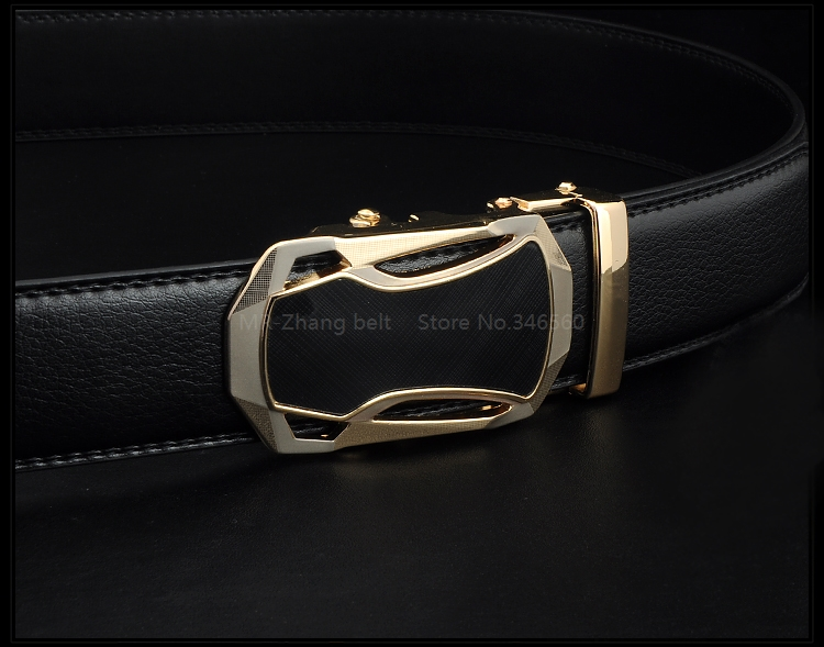 New 21 style 2015 men belt luxury automatic buckle leather belts for business men Long Top Quality Mens