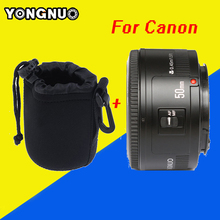 Buy YONGNUO 50mm Lens Fixed Focus Lens EF 50mm F/1.8 AF/MF Large Aperture Auto Focus Lens Canon+ Camera Lens Pouch Bag Cover Technology Co, Ltd Wholesale Store) for $49.46 in AliExpress store