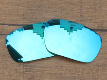 Ice Blue Mirror Polarized Replacement Lenses For Badman Sunglasses Frame 100% UVA & UVB Protection