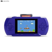 Niños Consola Portatil 3.2 Pulgadas Incorporado 280 Juegos de Mano Clásico Tetris Mini Jugador de la Consola de Doble Juego de la Ayuda Externa
