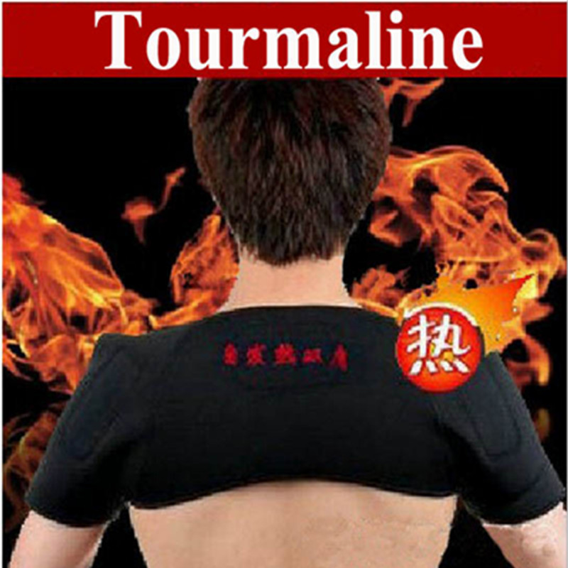 Pain Relieve Magnetic Therapy shoulder heating Protection Spontaneous Heating massage tourmaline shoulder heating belt