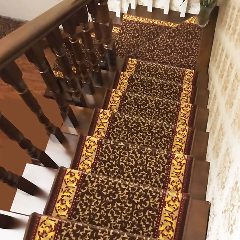 Top Selling 1Piece Stairs Mat Elegant Stair Carpet Non-Slip Stair Tread Mats Rugs for Stair Step Home Textile(China (Mainland))