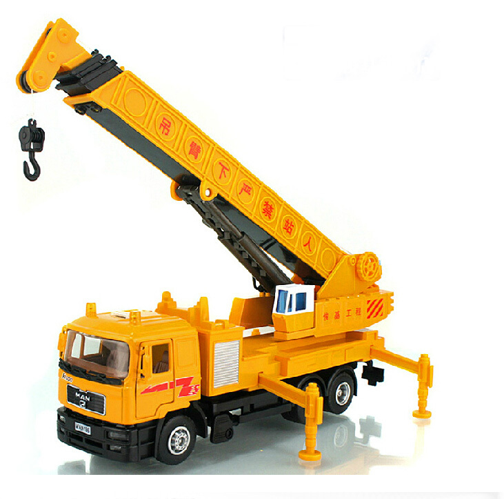Alloy Diecast tower Crane truck Model 1:40 Fire rescue mini Engineering vehicle Collection gifts Toy(China (Mainland))