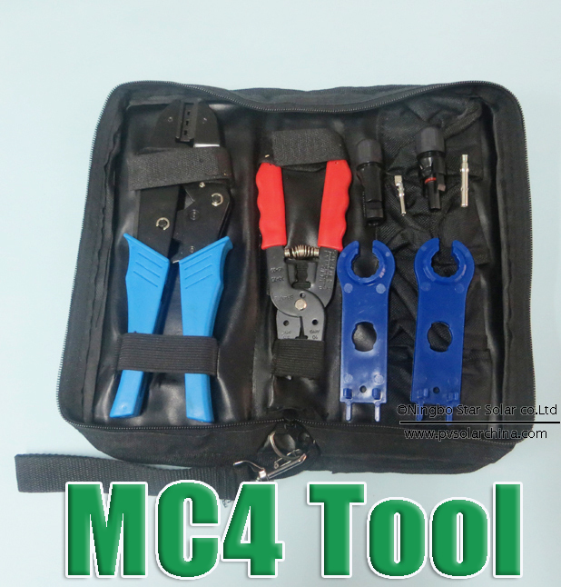 hot sale mc4 crimping tool for mc4 connector pv crimp cutting tools kits diy in pliers from home. Black Bedroom Furniture Sets. Home Design Ideas