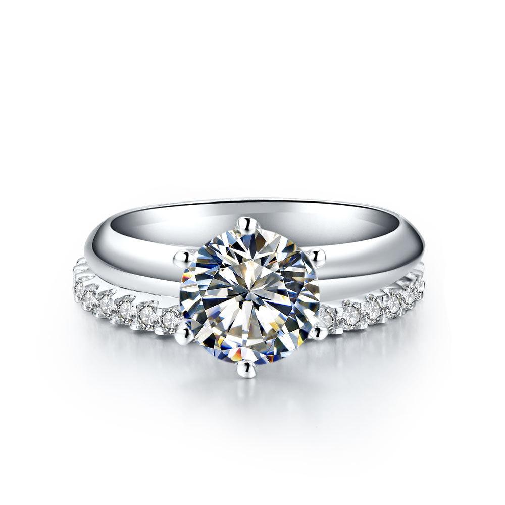 Classic wedding ring settings