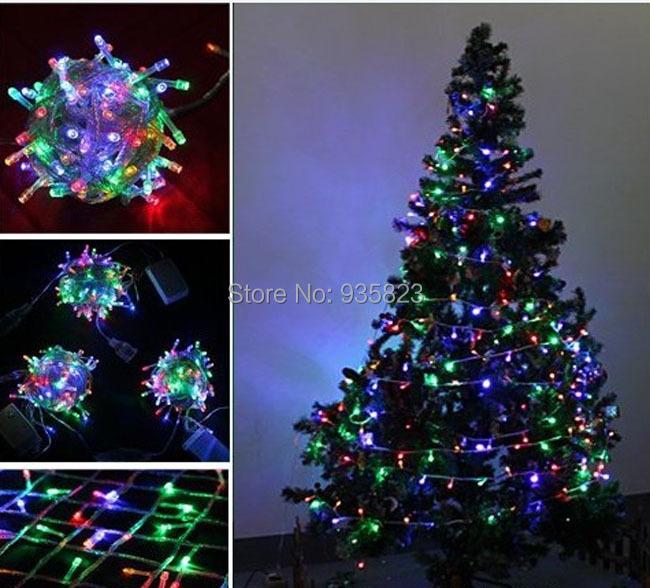 10m 100 Led Multi Color Party Led Light Christmas Lights