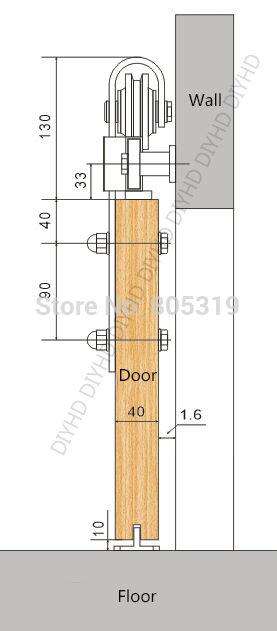 Buy Heavy Duty Double Sliding Barn Door Modern Wooden Sliding Barn Door