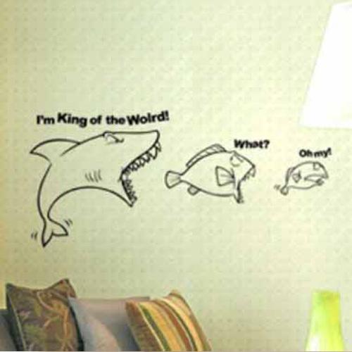haus wohnzimmer größe:fische Schlafzimmer Wohnzimmer dekor wandmalerei vinyl wandtattoo Haus