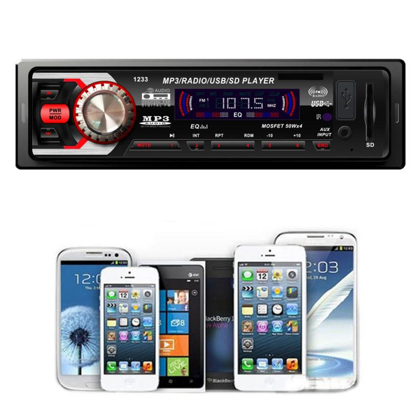 Гаджет  Deliacte New Fashion Car Audio Stereo In Dash FM With Mp3 Player USB SD Input AUX Receiver h5918 None Автомобили и Мотоциклы