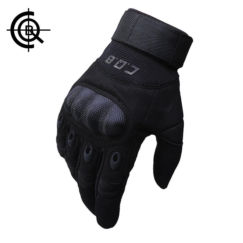 CQB Outdoor Cycling Full/ Half Finger Tactical Combat Gloves Non-slip Climbing Training Breathable Protect Gloves ST0055(China (Mainland))