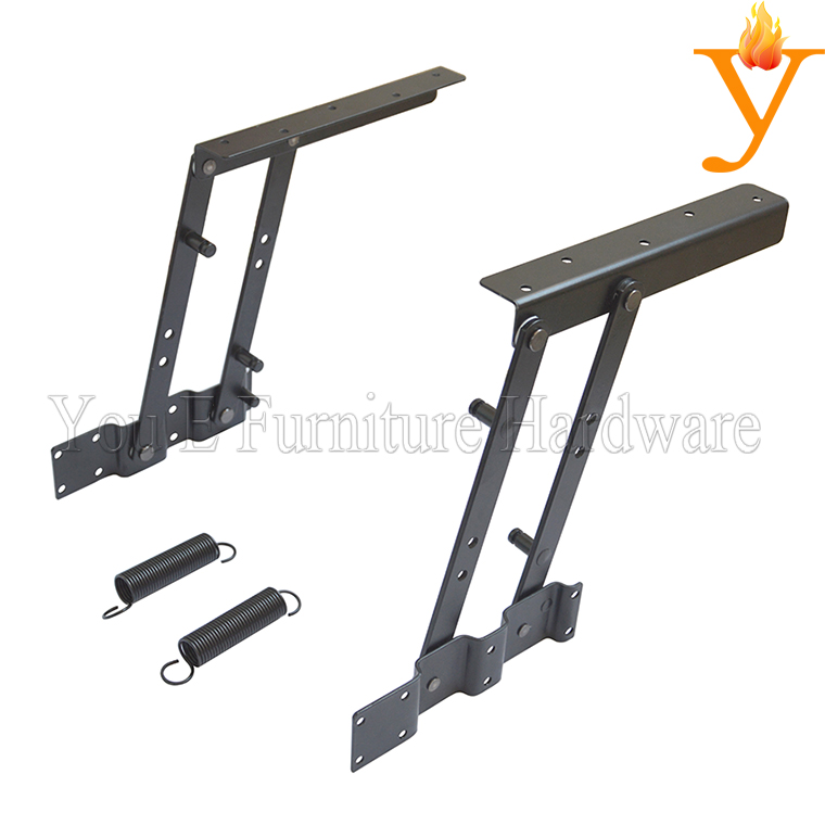 Lift Coffee Table Hardware Folding Table Mechanism With Spring B04(China (Mainland))
